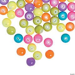 Neon Glass Beads - 8mm