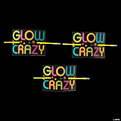 Neon Glow Party Bracelets on Cards