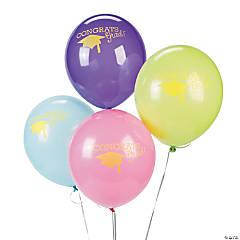Neon Grad Latex Balloons