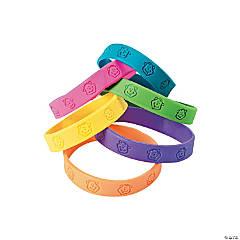 Neon Monkey Rubber Bracelet