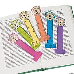 Neon Monkey Ruler Bookmarks