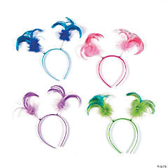 Neon Ponytail Head Boppers
