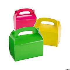 Neon Treat Boxes
