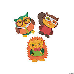 Nerdy Fall Critter Magnet Craft Kit