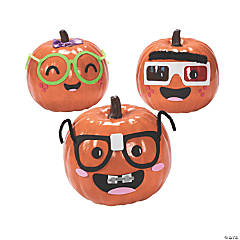 Nerdy Pumpkin Decorating Craft Kit