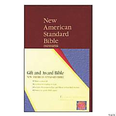 New American Standard Bible Gift & Award Bible - Burgundy