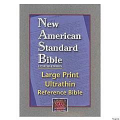 New American Standard Bible - Large Print - Ultra Thin Reference Bible - Black