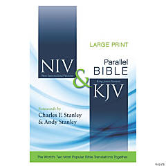 New International Version & King James Version Side-By-Side Bible - Large Print