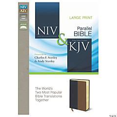 New International Version & King James Version Side-By-Side Bible - Large Print