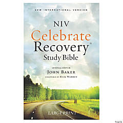 New International Version Celebrate Recovery Bible - Large Print