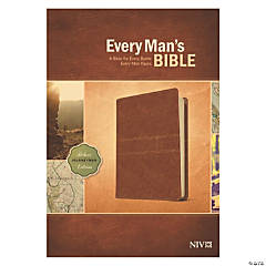 New International Version Every Mans Bible - Deluxe Journeyman