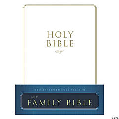 New International Version Family Bible - White