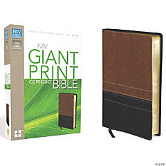 New International Version Giant Print Compact Bible - Sierra