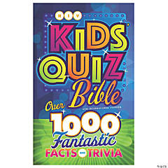 New International Version Kids' Quiz Bible - Hardcover