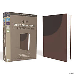New International Version Personal Giant Reference Bible - Chocolate