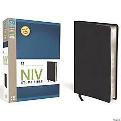 New International Version Study Bible - Black