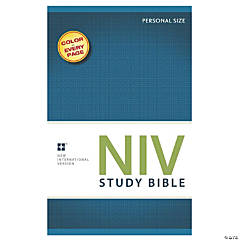 New International Version Study Bible - Personal Size - Softcover