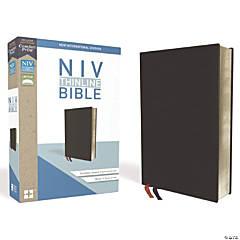 New International Version Thinline Bible - Black