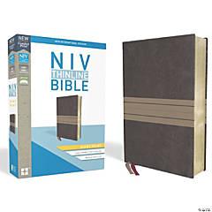 New International Version Thinline Bible - Giant Print - Chocolate