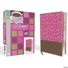 New International Version Womens Devotional Bible - Large - Chocolate