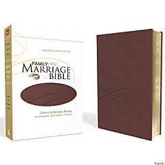 New King James Version Familylife Marriage Bible - Burgundy