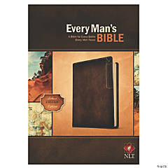 New Living Translation Every Mans Bible - Deluxe Explorer