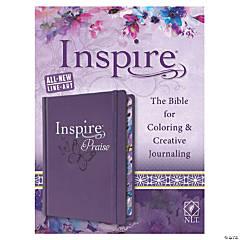 New Living Translation Inspire Praise Bible - Purple