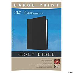 New Living Translation Premium Slim Reference Bible - Large Print