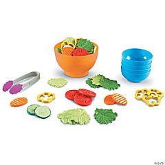 New Sprouts- Play Garden Fresh Salad Set