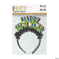 New Year's Eve Neon Dots Headbands