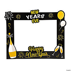 New Year's Eve Photo Booth Frame