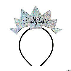 New Year's Eve Sparkle Crown Headband