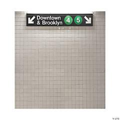 New York City Subway Backdrop Banner