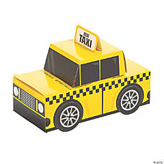 New York City Taxi Favor Boxes