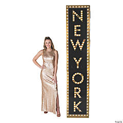 New York Marquee Column Stand-Up