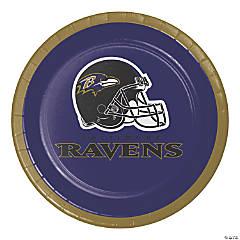 NFL Baltimore Ravens Dessert Plates 24 Count