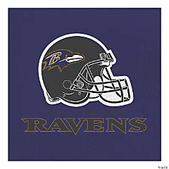 NFL Baltimore Ravens Napkins 48 Count
