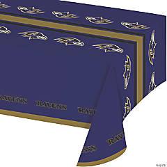 NFL Baltimore Ravens Plastic Tablecloths 3 Count