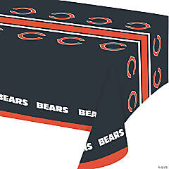 NFL Chicago Bears Plastic Tablecloths 3 Count