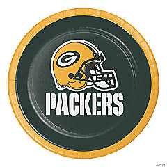 NFL Green Bay Packers Dessert Plates 24 Count