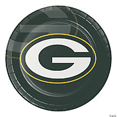 NFL Green Bay Packers Paper Plates 24 Count