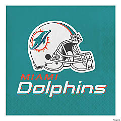 NFL Miami Dolphins Napkins 48 Count