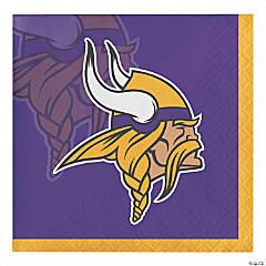 NFL Minnesota Vikings Beverage Napkins 48 Count
