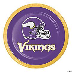 NFL Minnesota Vikings Dessert Plates 24 Count