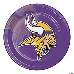 NFL Minnesota Vikings Paper Plates 24 Count