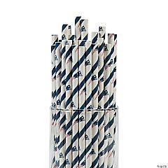 NFL® New England Patriots Paper Straws
