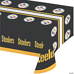 NFL Pittsburgh Steelers Plastic Tablecloths 3 Count