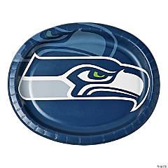 NFL® Seattle Seahawks™ Oval Paper Dinner Plates