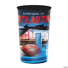 NFL® Super Bowl LIII Plastic Stadium Cup - 22 Oz.
