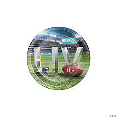 NFL® Super Bowl LIV Paper Dessert Plates